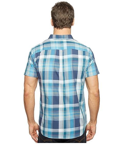 United Sleeve Shirt Short By Washington Blue Plaid qq0ZfAH