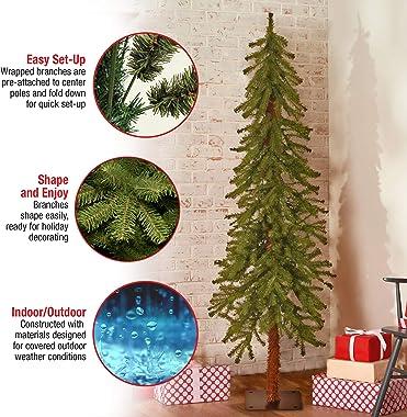 National Tree Company Artificial Christmas Tree | Hickory Cedar - 5 ft