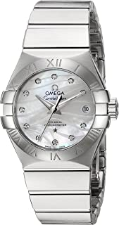 Women's 'Constellation' Swiss Automatic Stainless Steel Dress Watch, Color:Silver-Toned (Model: 12310272055002)