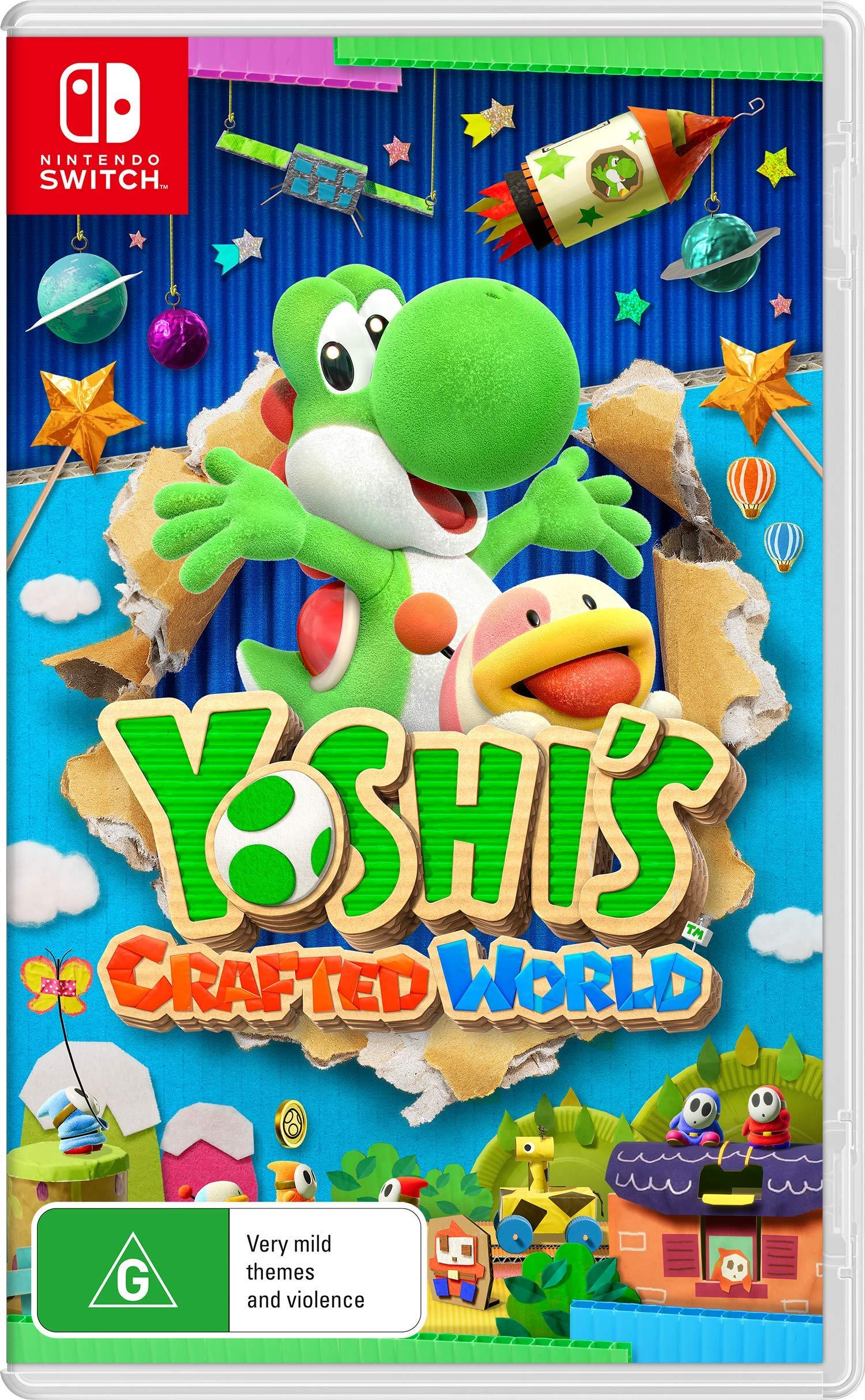 Yoshi S Crafted World Nintendo Switch Nintendo Amazon Com Au Video Games