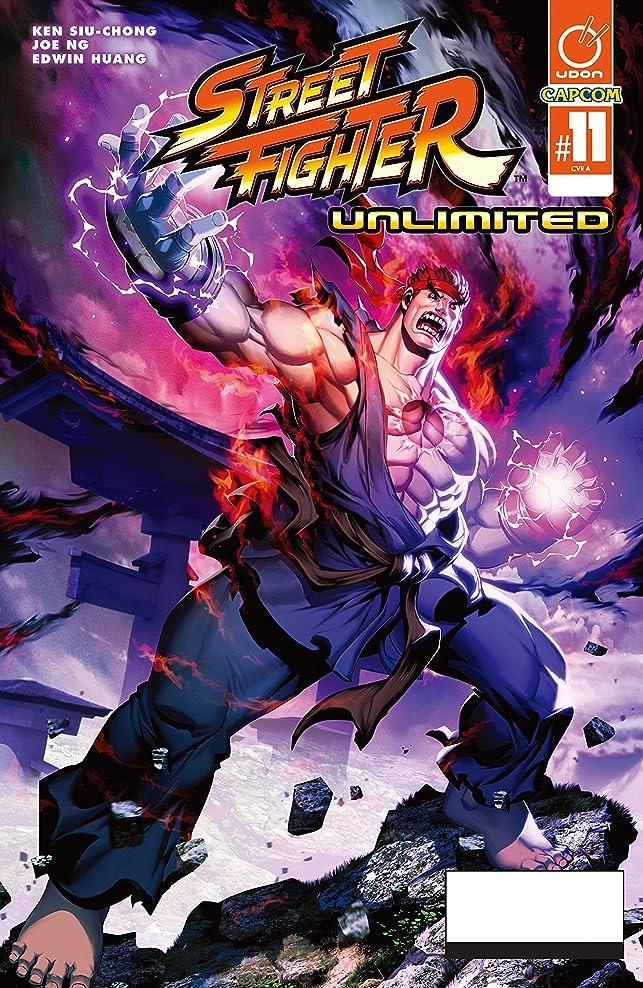 未使用考案する強調するStreet Fighter Unlimited #11 (English Edition)