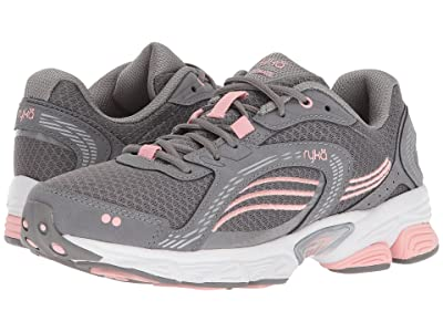Ryka Ultimate (Frost Grey/English Rose/Chrome Silver) Women