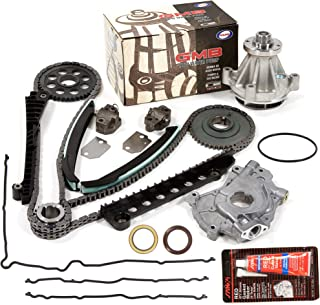 Evergreen TKTCS6054LWOP2 Fits 02-08 Ford 5.4 SOHC 16V VIN L, M, Z Timing Chain Kit Oil Pump GMB Water Pump Timing Cover Gasket