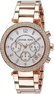 Michael Kors Women's MK5491 Parker Rose Gold-Tone Watch