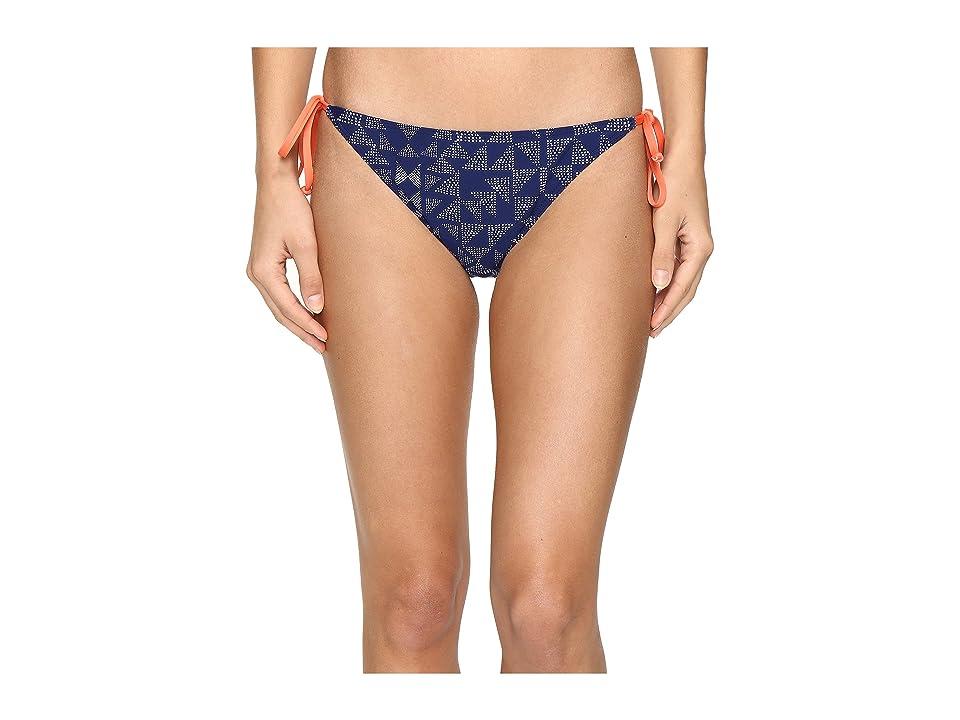 Splendid Deckhouse Geo Tie Side Pants (Indigo) Women
