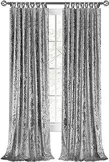 Best crushed velvet drapes Reviews
