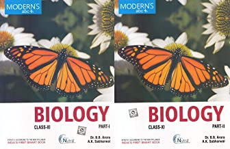 Modern ABC Biology for Class 11 (Part - I & II) Examination 2020-2021