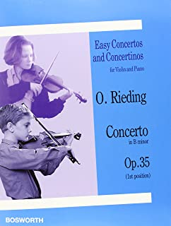Easy Concertos and Concertinos for Violin and Piano: Concerto in B Minor, Op. 35 (1st Position)