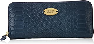 Hidesign leather Women's Wallet ANGARA W2(SNA M BLUE)