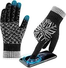 دستکش صفحه لمسی زمستانی ، دستکش رانندگی و رانندگی HETH با لاستیک ضد لغزش