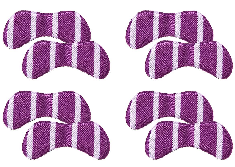 可愛いストライプチューリップフェニックス パンピタシール 靴擦れ防止パッド パカパカ防止 クッション素材 45日間メーカー保証書付属