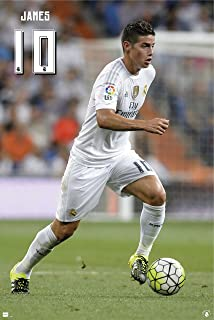 James Rodriguez | Real Madrid Action Poster 2016 | Hot! Ships from USA