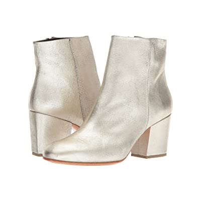 Rachel Comey Fete (White/Gold Distressed Leather) Women