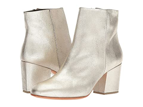 Rachel Comey , WHITE/GOLD DISTRESSED LEATHER