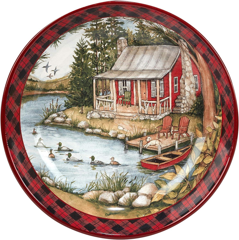 Certified International High quality new Lake Retreat Serving Popular standard oz. 120 Bowl