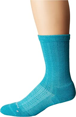 Feetures - Texture Cushion Crew Sock