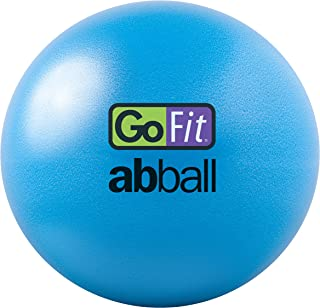 GoFit 20cm Core Ab Ball - with Inflation Tube and Training DVD