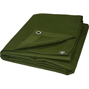 Great for Tarpaulin Canopy Tent 8X10 Heavy Duty Poly Tarp Brown//Black Boat Tarp Cover Brown//Black Heavy Duty 8X10 Thick Material RV Or Pool Cover Waterproof