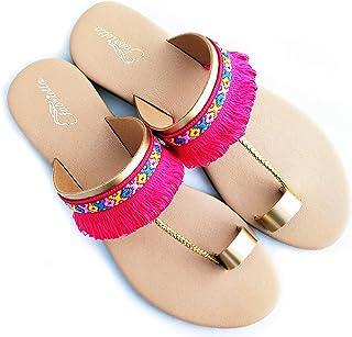 Fabriella Women Beige, Pink Flats