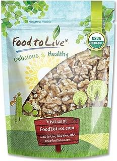 California Organic Walnuts, 2.5 Pounds - Non-GMO, No Shell, Kosher, Raw, Vegan, Bulk