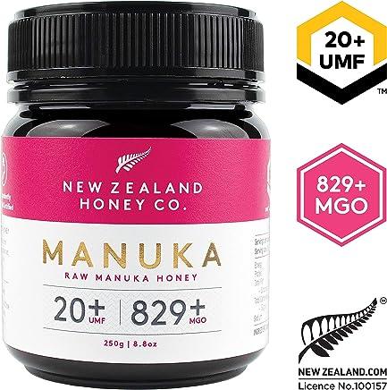 New Zealand Honey Co. Raw Manuka Honey UMF 20+ / MGO 829+   8.8oz / 250g