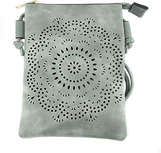 Zisla kleine Hippie-Umhängetasche mit Mandala.
