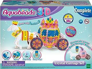 مجموعة لعبة عربة مرصعة بالكريستال من اكوابيدز