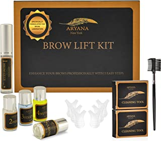 Aryana Brow Lamination Kit, Brow Lift Kit, Brow Perm Kit DIY, Natural Brow Botox, Specifically Formulated for Eyebrow Lamination