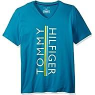 Tommy Hilfiger Men's Short Sleeve V-Neck Graphic T-Shirt