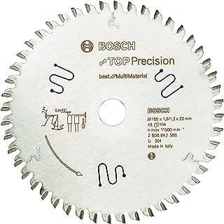Bosch Professional Cirkelsågblad Top Precision Best för Multi Material, 165 x 20 x 1,8 mm, 48, 2608642388