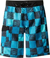 Vans Kids - Check Yourself Boardshorts (Little Kids/Big Kids)