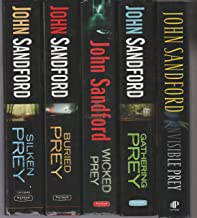 John Sandford - Set of 5 Books - Invisible Prey - Gathering Prey - Wicked Prey - Buried Prey - Silken Prey.