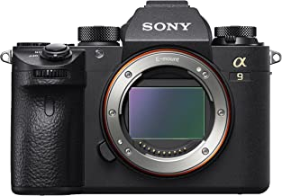 Sony a9 Full Frame Mirrorless Interchangeable-Lens Camera (Body Only) (ILCE9/B) (Renewed)