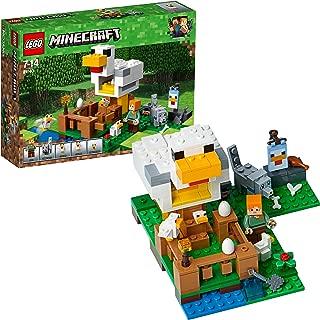 LEGO Minecraft The Chicken Coop 21140 Playset Toy