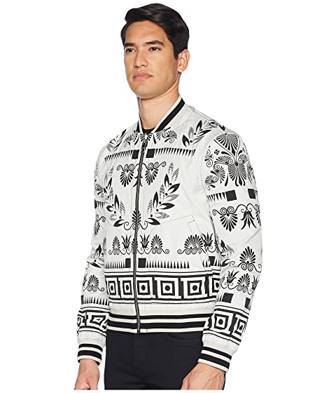 Floral Collection Bomber Versace Reversible Print p4PTwY