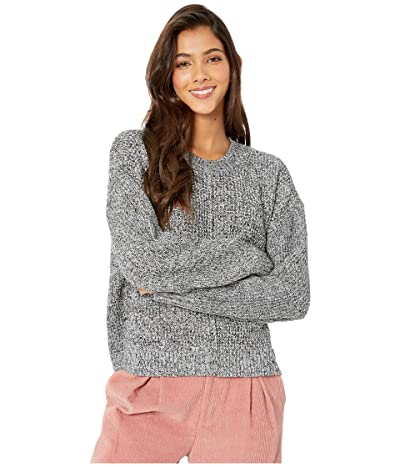 Sanctuary Sorry Not Sorry Sweater (Marled Black) Women