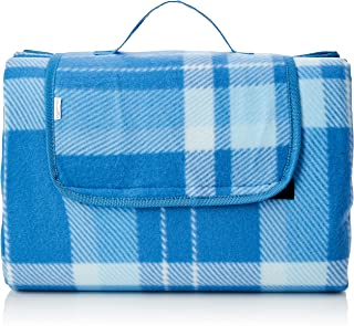 AmazonBasics picknickfilt med vattentät baksida, 175 x 200 cm, blå