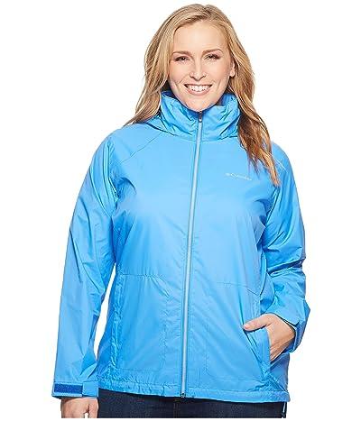 Columbia Plus Size Switchback III Jacket (Harbor Blue) Women