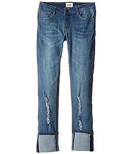Ginny Crop Jeans in Sanded Wash (Big Kids)