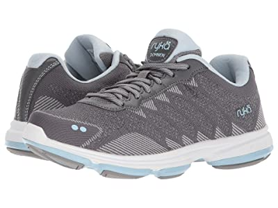 Ryka Dominion (Frost Grey/Soft Blue/Chrome Silver) Women