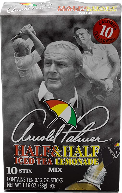 AriZona Arnold Palmer Half Lemonade Half Iced Tea Stix 10 Count Per Box Pack Of 6 Low Calorie Single Serving Drink Powder Packets Just Add Water For A Deliciously Refreshing Iced Tea Beverage