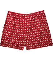 Vineyard Vines - Santa Whale & Tree Boxer Shorts