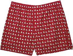 Vineyard Vines - Santa Whale & Tree Boxer Shorts
