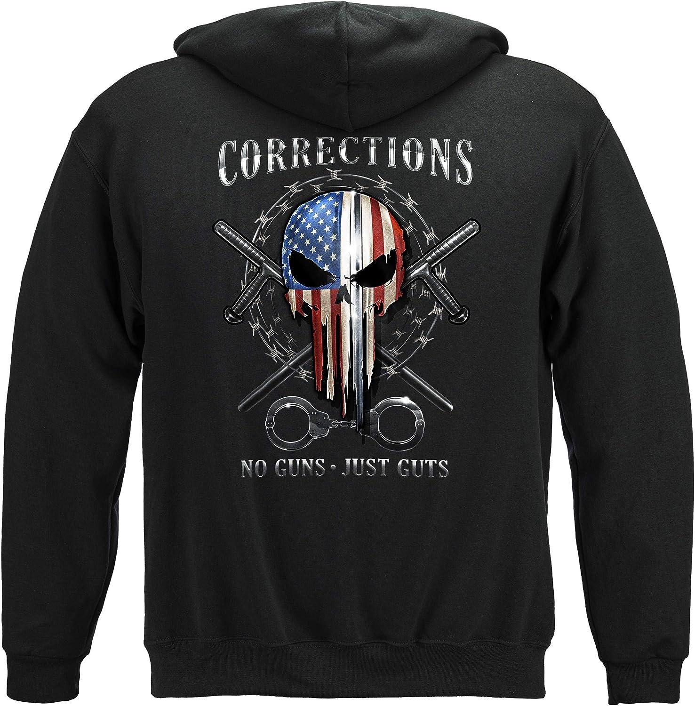 Blue Lives Matter Hoodie Officer Correctional 男女兼用 商品追加値下げ在庫復活