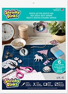 Shrinky Dinks Creative Pack 6 Printed Pattern