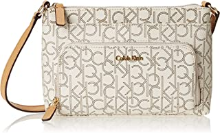 Calvin Klein Women's Hudson Monogram Crossbody with Pocket