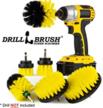 Cleaning Supplies - Bathroom Accessories - Drill Brush - Shower Cleaner - Shower Curtain - Bathtub - Bath Mat - Sink - Tile - Grout Cleaner - Porcelain - Fiberglass - Cast Iron - Tub - Flooring
