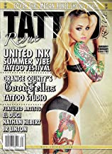 TATTOO REVUE Magazine (January February 2014) Issue 167 MEGAN RENEE Cover, UNITED INK SUMMER VIBE TATTOO FESTIVAL, GOODFELLAS TATTOO STUDIO