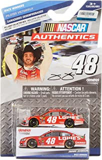 NASCAR Authentics 2014 Race Winners Edition Texas Win #48 Jimmie Johnson Lowes Red Vest 1/64 1:64 Scale DIECAST Race CAR with Collectible Box