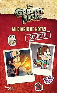 Gravity Falls.: Mi Diario de Notas Secreto (Spanish Edition)
